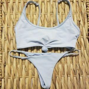 FRANKIES BIKINIS ribbed bikini